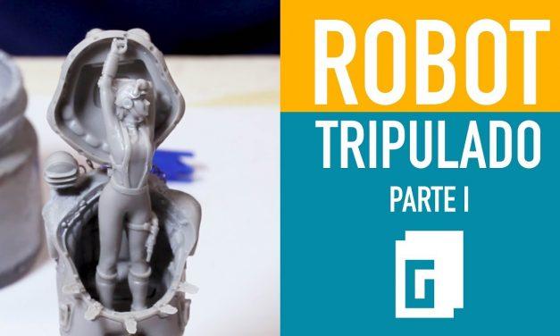 Robot tripulado. Parte 1 de 3