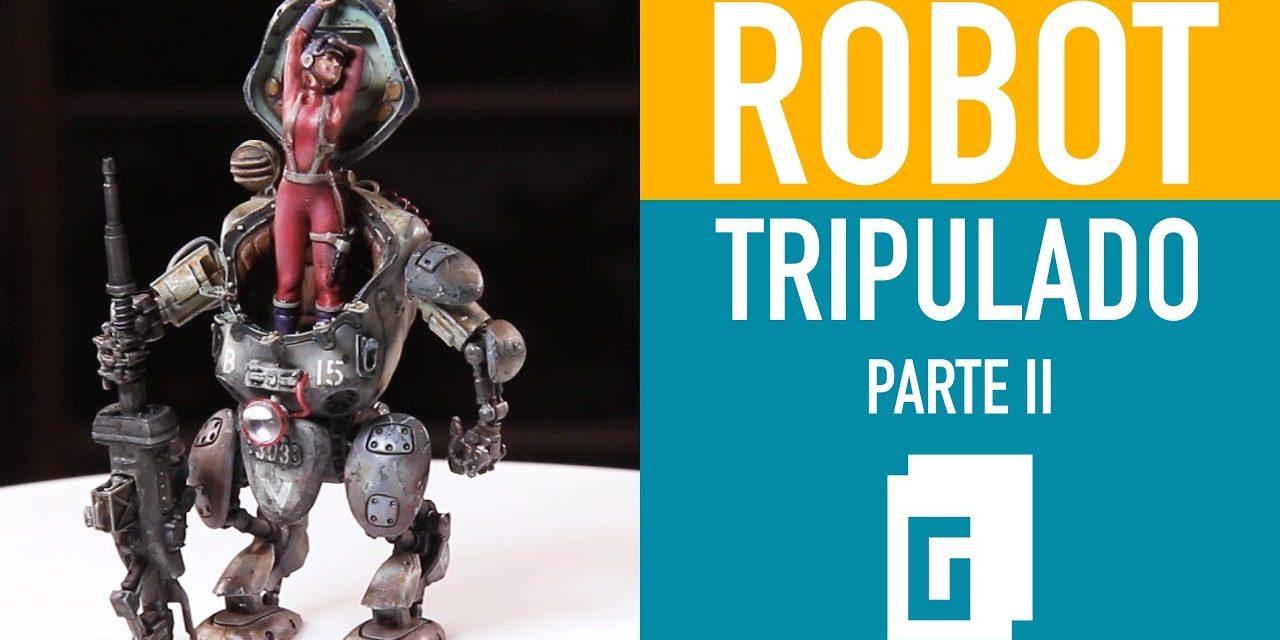 Robot tripulado. Parte 2 de 3
