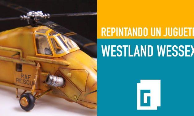 Westland Wessex. Repintando un juguete