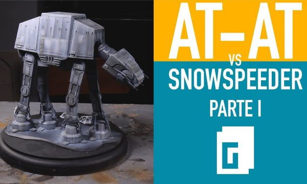 At-At vs Snowspeeder. Parte 1 de 2