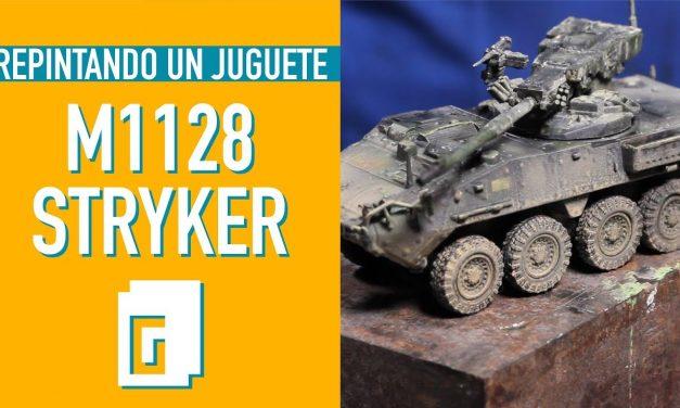 M1128 Stryker. Repintando un juguete